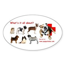 What's it all about? Oval Decal