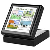 """The Four Seasons"" Keepsake Box"