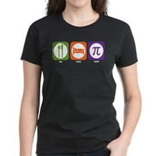 Eat Sleep Math Tee