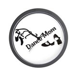 Dance Mom Wall Clock