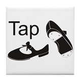 Tap Shoes Tile Coaster