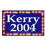 Kerry 2004 Rectangle Sticker