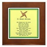IRISH BLESSINGS- ST. BRIGID Framed Tile