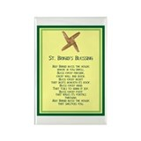 IRISH BLESSINGS- ST. BRIGID Rectangle Magnet (100