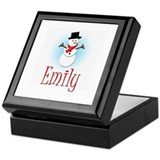 Snowman - Emily Keepsake Box