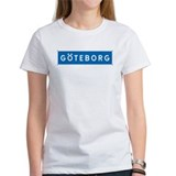 Road Marker Gothenburg - Sweden Tee