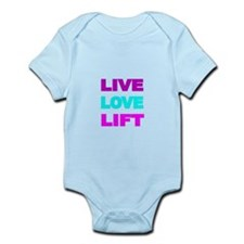 LIVE LOVE LIFT-COLOR Body Suit