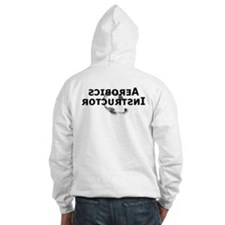 'Aerobics Instructor' back - Hoodie
