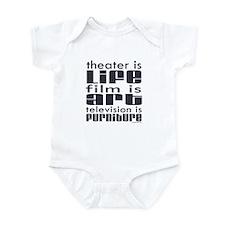 Theater is Life Infant Bodysuit