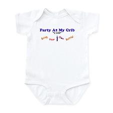 """""""Party At My Crib *2 AM*: BYOB!"""" Infant Bodysuit"""