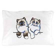 Ragdolls Pair Off-Leash Art™ Pillow Case