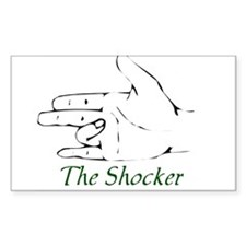 The Shocker Rectangle Decal