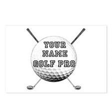 Custom Golf Pro Postcards (Package of 8)