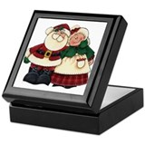 Mr. & Mrs. Claus Keepsake Box