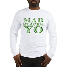 Mad Stacks Yo - Breaking Bad Long Sleeve T-Shirt