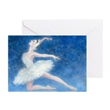 Swan Lake Ballet Greeting Cards (10 ct)