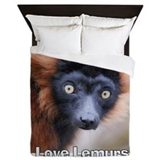Love Lemurs Queen Duvet