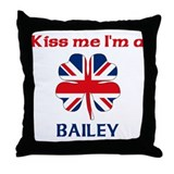 Bailey Family Throw Pillow