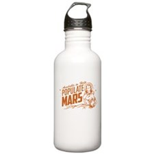 Available To Populate Mars (Woman) Water Bottle