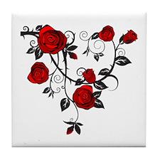Rose Tile Coaster