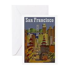 Vintage San Francisco Travel Greeting Card