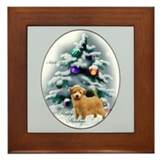 Norfolk Terrier Framed Tile