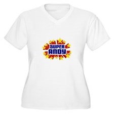Andy the Super Hero Plus Size T-Shirt