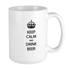 Keep Calm Drink Beer Mug