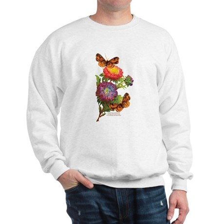 """Butterflies with Mums"" Sweatshirt"