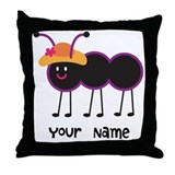 Personalized Ant Throw Pillow