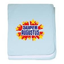 Augustus the Super Hero baby blanket