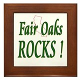 Fair Oaks Rocks ! Framed Tile