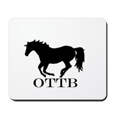 Off Track Thoroughbred Mousepad