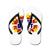Brett the Super Hero Flip Flops