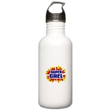 Cael the Super Hero Water Bottle