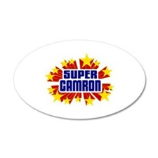 Camron the Super Hero Wall Decal
