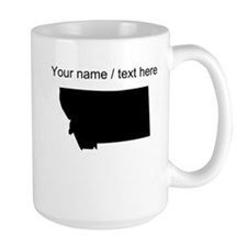 Custom Montana Silhouette Mug