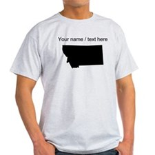 Custom Montana Silhouette T-Shirt