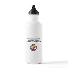 stop human trafficking Water Bottle
