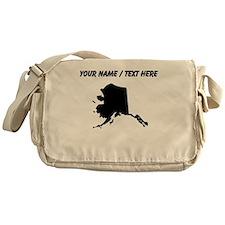 Custom Alaska Silhouette Messenger Bag