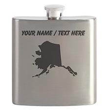 Custom Alaska Silhouette Flask