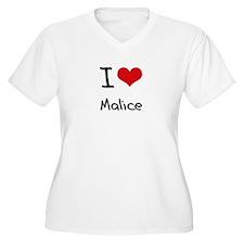 I Love Malice Plus Size T-Shirt
