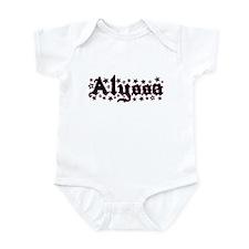 """Alyssa Stars"" Infant Bodysuit"
