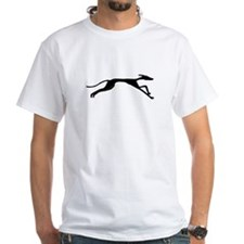 Sleek Greyhound Art T-Shirt