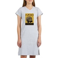 Hippo Zoo Women's Nightshirt