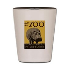 Hippo Zoo Shot Glass