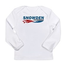 Edward Snowden REAL AMERICAN HERO Long Sleeve T-Sh