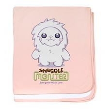 Cute Abominable Snowgirl baby blanket