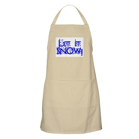 Let it Snow! BBQ Apron