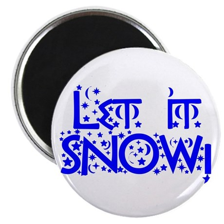"Let it Snow! 2.25"" Magnet (100 pack)"